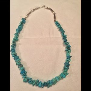 Jewelry - turquoise necklace.